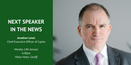 Speaker in the News: Jonathan Lewis, Chief Executive Officer of Capita