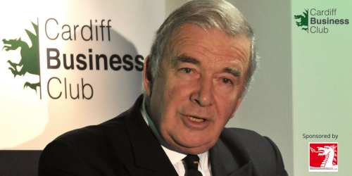 Cardiff Business Club interviews Admiral The Right Honourable Lord West