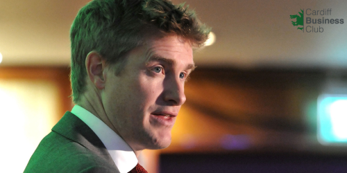 Cardiff Business Club interviews...Dr Tristram Hunt