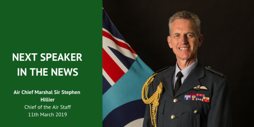 Speaker in the news: Air Chief Marshal Sir Stephen Hillier